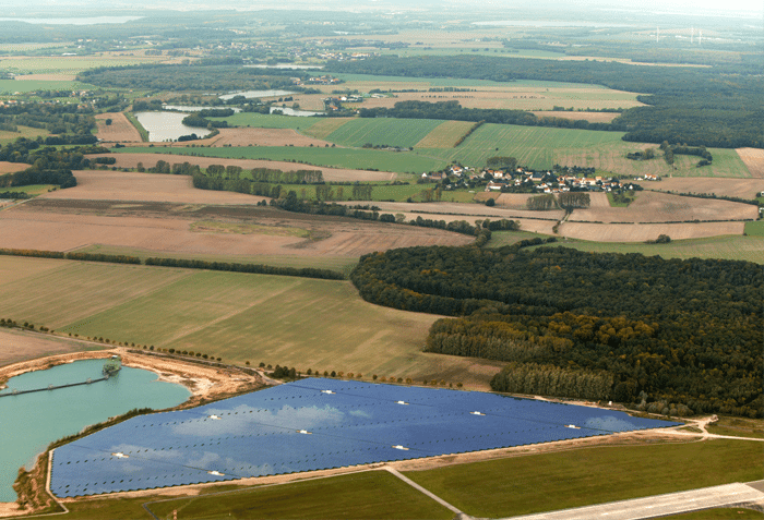Solarpark Altenburg Flugplatz