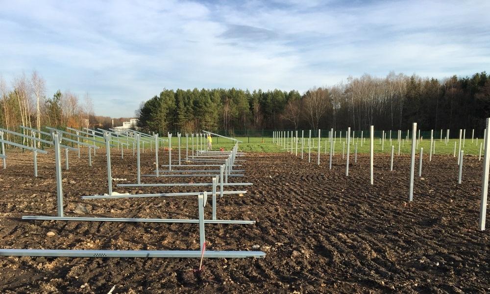 Solarpark Klausa Bauarbeiten