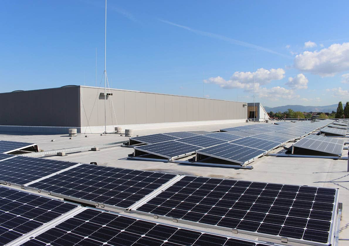 Photovoltaik Hebel Gymnasium Schwetzingen