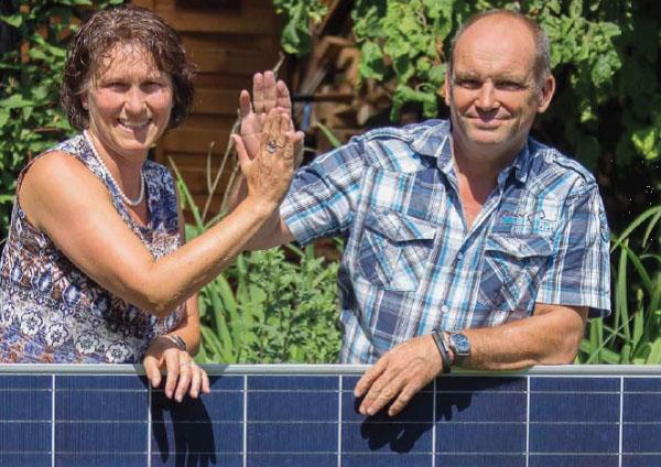 Familie Fitterlingsetzt auf Photovoltaik