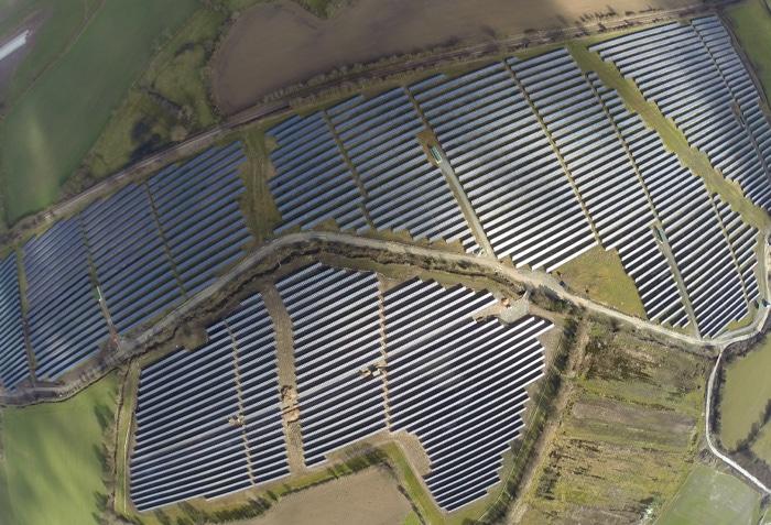 Solarpark Hayford (UK)