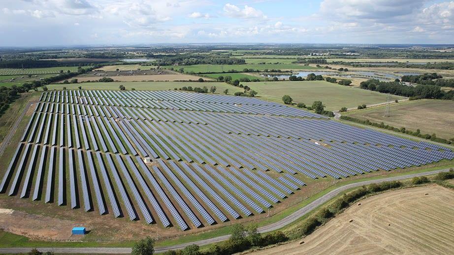 Solarpark Tiln Farm UK