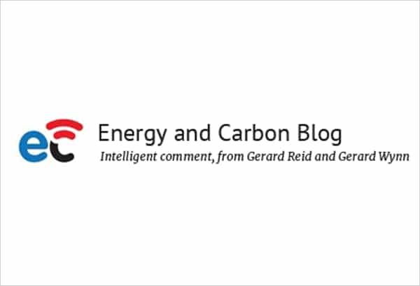 Guest Post by Thomas Kercher on the energy and carbon blog