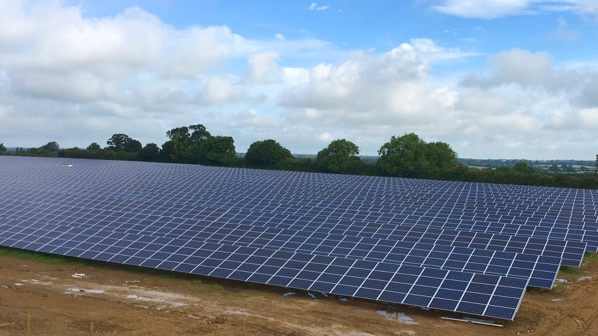 Solarpark Gawcott (UK)