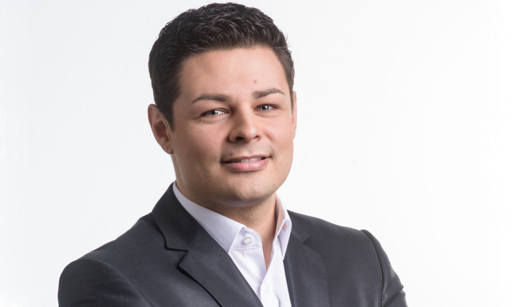 Dominic Lauer, Leiter Privat- und Geschäftskundenvertrieb bei PFALZSOLAR
