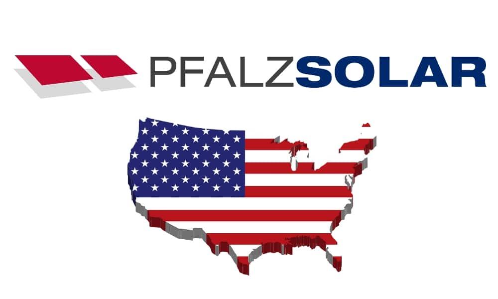 PFALZSOLAR FOUNDS U.S. SUBSIDIARY