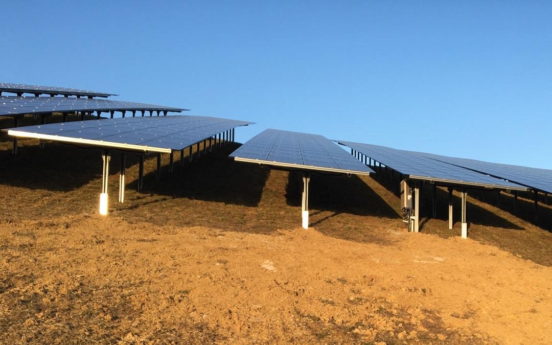 Solarpark im Deponiepark Brandholz