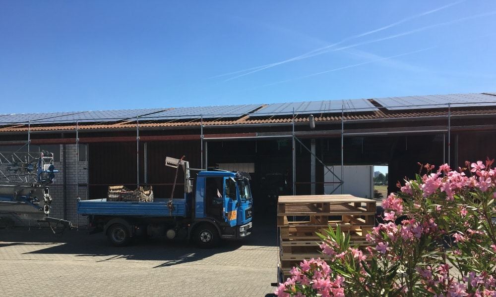 Photovoltaik Repowering in Frankenthal