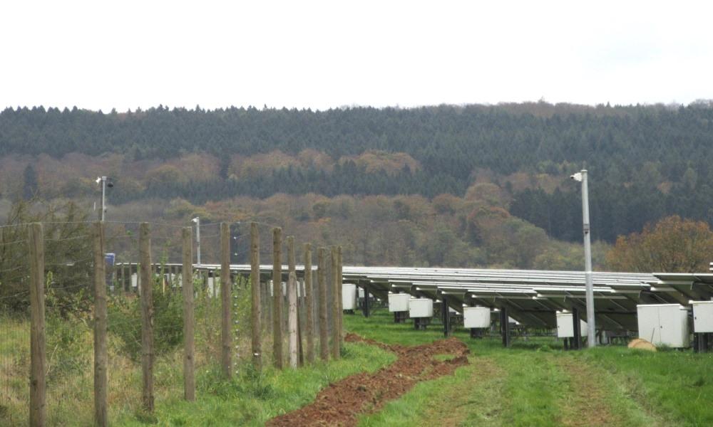 Schutz vor Moduldiebstah in Solarparks mittels Kameraüberwachung