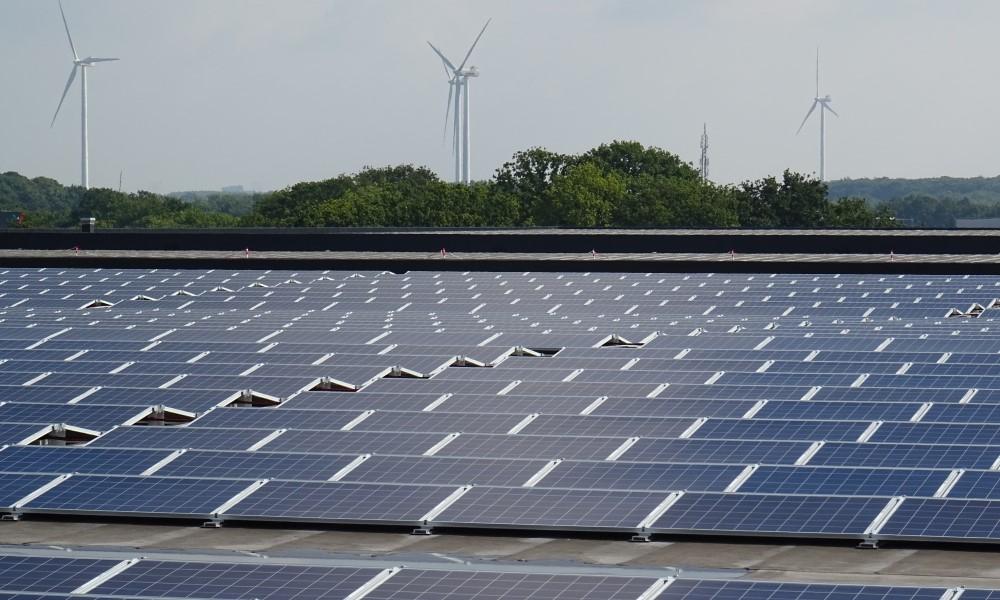 PV Power Plant in Tilburg Netherlands