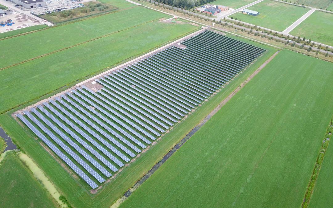 Solarpark Wolvega, Netherlands