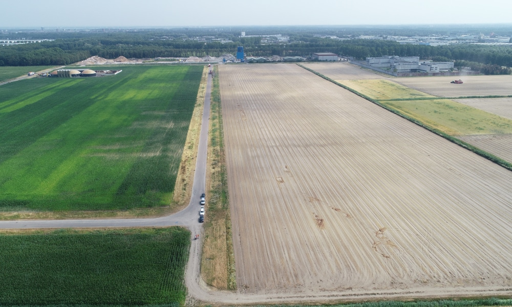 Solarpark Almere befor construction start